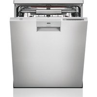AEG ComfortLift FFE63806PM Full-size Dishwasher - Stainless Steel, Stainless Steel