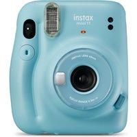 INSTAX mini 11 Instant Camera - Sky Blue, Blue