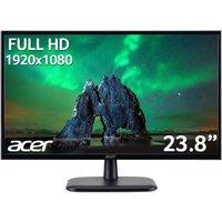 """ACER EK240YAbi Full HD 23.8"""" IPS LCD Monitor - Black, Black"""