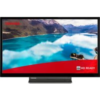 """24"""" TOSHIBA 24WD3C63DB  Smart HD Ready HDR LED TV with Built-in DVD Player"""