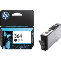 HP 364 Black Ink Cartridge, Black
