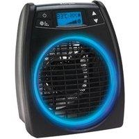 DIMPLEX DXGLO2 GloFan Portable Hot & Cool Fan Heater - Black