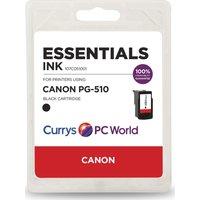 ESSENTIALS PG-510 Black Canon Ink Cartridge, Black