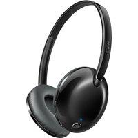 PHILIPS SHB4405BK Wireless Bluetooth Headphones - Black, Black