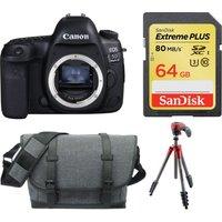 Canon Eos 5d Mark Iv DSLR Camera & Accessories Bundle, Black