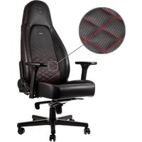 ICON Gaming Chair - Black & Red, Black