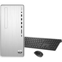 HP Pavilion TP01-1008na Desktop PC - Intel®u0026regCore i5, 1 TB HDD and 256 GB SSD, Silver, Silver