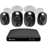 SWANN SWDVK-856804WL-EU 8-channel 4K Ultra HD DVR Security System - 1 TB, 4 Cameras.