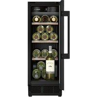 BOSCH KUW20VHF0G Wine Cooler - Black, Black