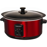 MORPHY RICHARDS 48702 Sear and Stew Slow Cooker - Red, Red
