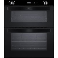 NEW WORLD NW701DOP Electric Built-under Double Oven - Black, Black
