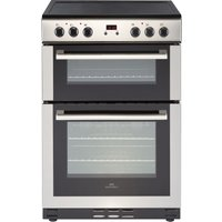 NEW WORLD NW 60EDOMC STA 60 cm Electric Ceramic Cooker - Stainless Steel, Stainless Steel