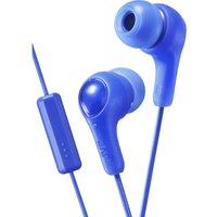 JVC Gumy Plus Headphones - Blue, Blue