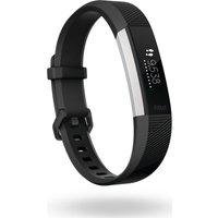 Fitbit Alta Hr - Black, Large, Black
