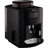 KRUPS Espresseria EA8150 Bean to Cup Coffee Machine - Black, Black