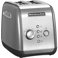 Buy KITCHENAID 5KMT221BCU 2-Slice Toaster - Contour Silver, Silver - Currys PC World
