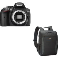 NIKON D5300 DSLR Camera & Format 150 DSLR Camera Backpack Bundle
