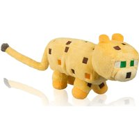 MINECRAFT Ocelot Plush Toy with Hang Tag - 14, Yellow, Yellow