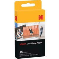 KODAK Premium Zink 2x3 Photo Paper - 20 Sheets