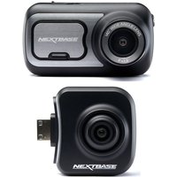 Nextbase 422GW Quad HD Dash Cam with Amazon Alexa & NBDVRS2RFCZ Full HD Rear View Dash Cam Bundle
