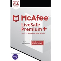 MCAFEE LiveSafe Premium 2020 - 1 year for unlimited devices