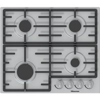 GM643XUK Gas Hob - Stainless Steel, Stainless Steel