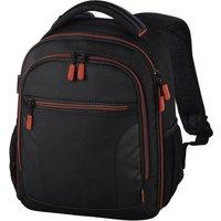 HAMA Miami 150 DSLR Camera Backpack - Black and Red, Black