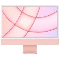 "Apple iMac 4.5K 24"" (2021) - M1, 256 GB SSD, Pink, Pink"