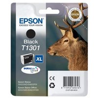 EPSON Stag T1301 XL Black Ink Cartridge, Black