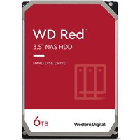 WD Red 3.5 Internal Network Hard Drive - 6 TB, Red