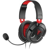 TURTLE BEACH  Earforce Recon 50 2.0 Gaming Headset - Black & Red, Black