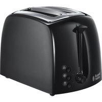 Buy RUSSELL HOBBS Textures 21641 2-Slice Toaster - Black, Black - Currys PC World