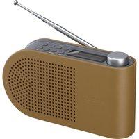 SANDSTROM SPLDAB17 Portable DAB Radio - Leather & Grey, Grey