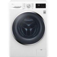 LG F4J6TN2W NFC 8 kg 1400 Spin Washing Machine - White, White