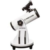 MEADE Lightbridge Mini 82 Reflector Telescope - White, White