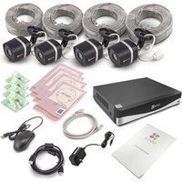 Ezviz 4-channel 4k Ultra Hd Home Security Kit - 4 Cameras, 2 Tb Dvr