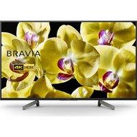 "Sony BRAVIA KD43XG8096BU 43"" Smart 4K Ultra HD HDR LED TV  Blue"