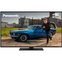 """PanasonicTX-43GX555B 43"""" Smart 4K Ultra HD HDR LED TV, Silver"""