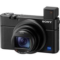 SONY Cyber-shot DSC-RX100 VII High Performance Compact Camera - Black