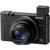 SONY Cyber-shot DSC-RX100 VII High Performance Compact Camera - Black, Black.