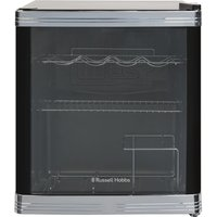 RUSSELL HOBBS RHGWC1B Drinks and Wine Cooler - Black, Black