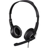 HAMA HS-P150 Headset - Black & Silver, Black