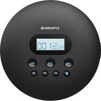 OAKCASTLE CD100 Bluetooth Personal CD Player - Black, Black