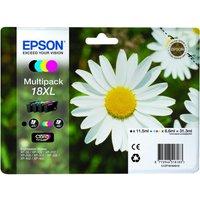 Epson Daisy T1816 Xl Cyan, Magenta, Yellow & Black Ink Cartridges - Multipack, Cyan