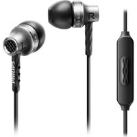 PHILIPS SHE9105 Headphones - Silver, Silver