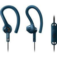 PHILIPS ActionFit SHQ1405BL/00 Headphones - Blue, Blue