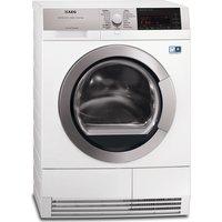 AEG T97689IH3 Condenser Tumble Dryer - White, White