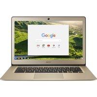 """Acer CB3-431 14"""" Full HD Chromebook - Gold, Gold"""