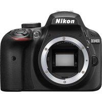 NIK D3400 DSLR Camera - Black, Body Only, Black