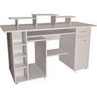 ALPHASON San Diego Desk - White, White